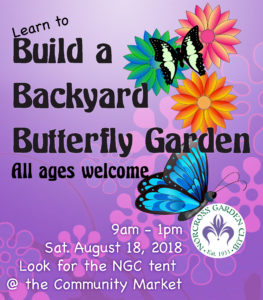 Build a Butterfly Garden @ Norcross Community Market
