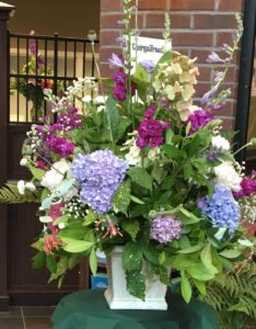 National Garden Week - live floral arrangements @ City Hall - Norcross
