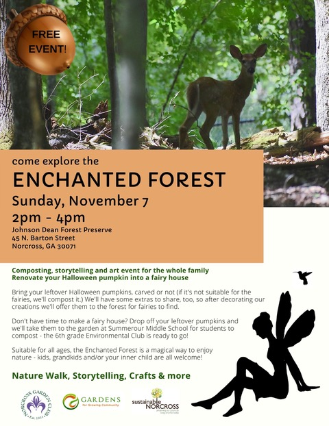 Enchanted Forest - Fairy House building @ Johnson Dean Forest